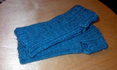 Martin's fingerless gloves