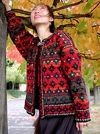 Hollyberry Kilim Jacket