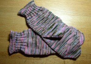 finshed socks