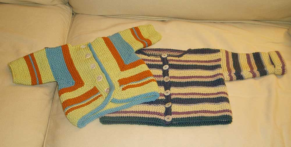 Cai and Cael Sweaters