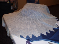 SOAR - Margaret Stove circular lace shawl