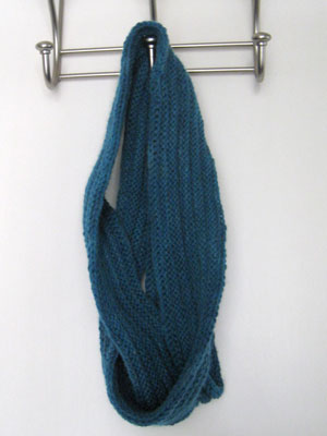 Pleated Mobius Scarf